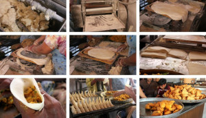 The making of Shahi samosa. Photo Credit: Vaishali Sabnani
