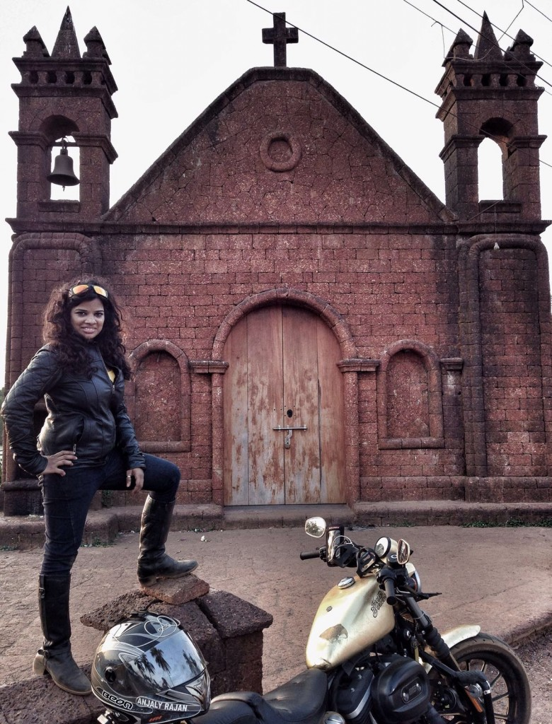 A Royal Enfield dealer introduced Anjaly Rajan to the Bullet, the ultimate dream of any motorcycle enthusiast.