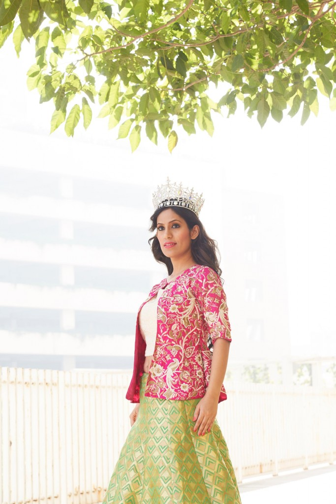 Mrs Earth, Priyanka Khurana is the brand ambassador of the Festival of Hope. Photo credit: The Festival of Hope