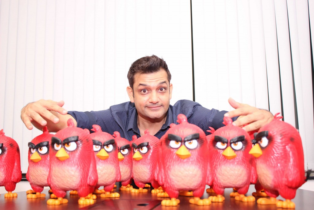 Mayur Puri has penned the Hindi dialogues for The Angry Birds Movie.
