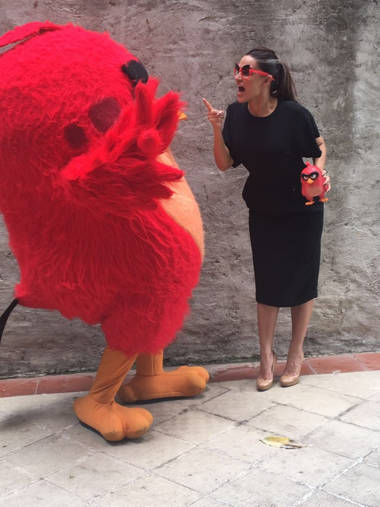 Neha Dhupia in an animated chat with Red.