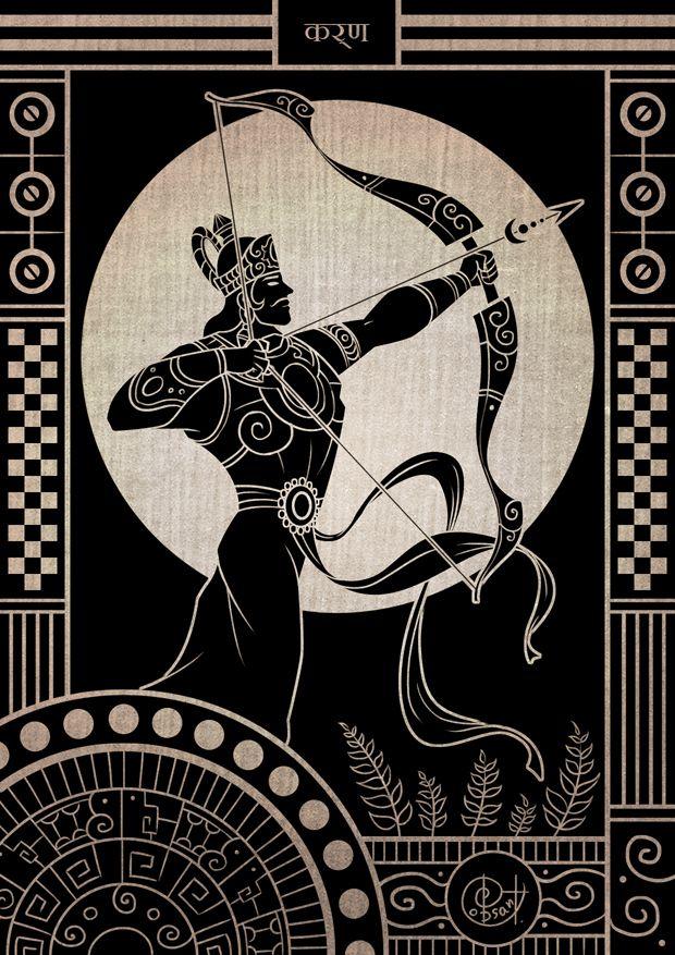 Dastan-e Karn Az Mahabharat is based on the great Karna and his heroism.